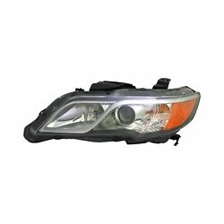 For Acura Rdx 13-15 Headlight Lens And Housing Ac2502124 Driver Side Replacement