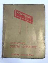 1975 Kenworth Operators Parts Catalog For Chassis 146260 Oem Manual