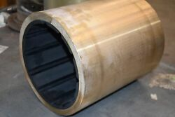 New Flowserve Brass Shaft Sleeve Duramax 12-3/4and039and039 Oal X 10-3/4and039and039 Od X 8-3/8and039