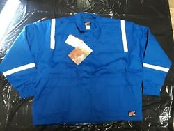Red Wing New Insulated Fire Resistant Parka Jacket Royal Blue Reflective 4xl-t