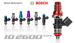 Injector Dynamics High Imp. 2600xds Fuel Injectors For 11-16 Ford Svt Raptor