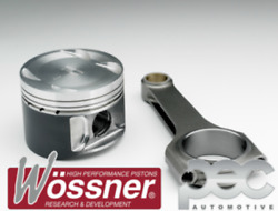 Wossner Ford Cosworth Yb Turbo 4x4 8.01 92.5mm Forged Pistons And Pec Rods Set