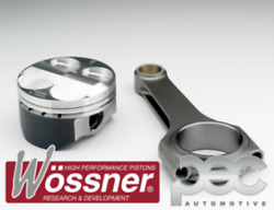 Wossner Ford 2.3 Duratec 16v Haut Compatible 87.5mm Piston Forgandeacute And Pec Barres