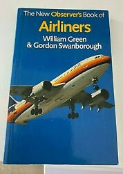 THE NEW OBSERVER #x27; S BOOK OF @@ AIRLINERS @@ WILLIAM GREEN amp; GORDON SWANBOROUGH GBP 3.00