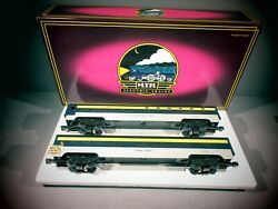 Mth 20-6602 Chesapeake And Ohio Sleeper/diner Set Box From Anotheer Set 20-4128