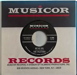 New Platters Not My Girl Lou Johnson No Other Guy / From Ace 03
