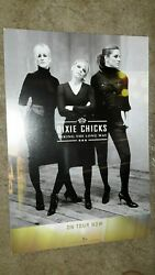 Dixie-chicks-taking-the-long-way-1 Poster Flat-2 Sided-12x18in.-nmint