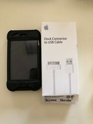 Apple Iphone 3gs - 16gb - Black Unlocked A1303 Gsm Working Good Condition