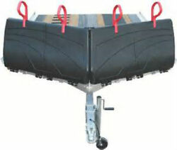 Caliber 13404 V-front Snowmobile Trailer Hdpe Plastic Ramp Shield - 30 Inch Tall