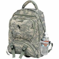 Outdoor Camo School Backpack Mens Army Military Camping Hiking Laptop Bookbag $24.65