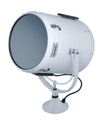 Perko Fig 884 Head Searchlight 12 Solar-ray 0884op2wht For Lever Control Boat