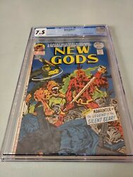 New Gods 7 Cgc 7.5 1st Steppenwolf Origin Of Mister Miracle And Orion Dc White