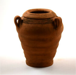 Roman Brown-red Pottery Clay Amphora
