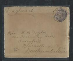 South Africa Cover P0212b Boer War Gb Used In 1/2d 1900 Br Army Sa To Uk