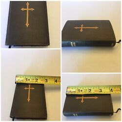 The Book Of Common Prayer, Oxfordhenry Frowde, New York, 1898 Vintage Pocket Sz