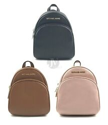 Michael Kors Giftables Abbey Leather Extra Small Crossbody Messenger Backpack $92.88