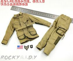 Uniform For Soldier Story Ss110 Wwii Us 101st Airborne Division Paratrooper 1/6
