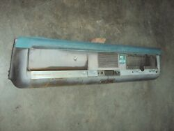 1967-1971 International Scout 800 Right Hand Drive Complete Dash Panel Postal