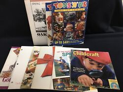 Vintage Toy Catalog Lot Of 8 - Fisher-price '81, Toys 'r Us Magazines + More