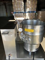 Groen Tdb-20 Electric Steam Jacketed Tilt Soup Kettle Good Condition