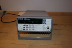 Keysight / Agilent / Hp 53181a Rf Frequency Counter 225mhz For Rf Applications
