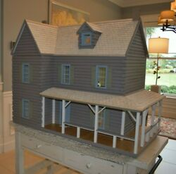 Real Good Toys Dollhouse The Ponderosa Log Cabin 36 X 22 X 32 Porch 1 Scale