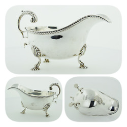 Vintage And Co Sterling Silver Creamer Or Small Gravy Boat