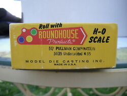 Roundhouse 50' Pullman Combination Undecorated 5035 Actual Shipping Cost