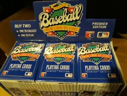 1990 Us Playing Cards All Star Decks Lot Of 480. 10 Cases Ken Griffey Jr And Team