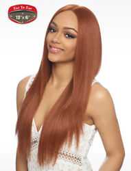 Harlem 125 Synthetic 4x4 Swiss Silk Base Lace Front Wig - Fls51