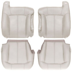 2000-2002 Chevy Tahoe And Suburban Full Front Row Leather Kit - Shale Tan