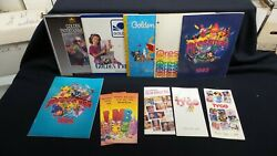 Eleven Vintage Toy Fair Catalogs- Tyco, Milton Bradley And More Lot A