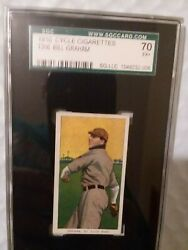 T206 Bill Graham Cycle 350 Sgc 70 The Highest Graded Between Sgc And Psa
