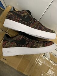 Nike Air Force One Ultra Flyknit Premium Multi-color Size 9 Af1 Brand New
