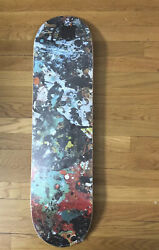 Ds The Hundreds Jackson Pollock Limited Edtion Skateboard Deck Wrapped Supreme