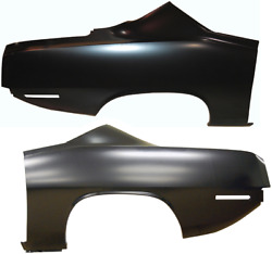 AMD 70-71 Barracuda Cuda Rear Quarter Panel Pair LH + RH Full OE Factory Style