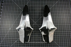 1934-36 Packard V-12 Accessory Front Bumper Guards Pair Nice