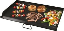 Bbq Grill Griddle Steel Fry Flat Top Camp Chef 2 Burner Stove Barbecue Cookware