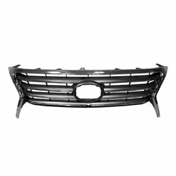 Fits 2013-2015 Lexus Lx570 Front Bumper Grille Black And Chrome New