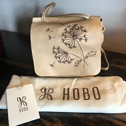 NWT $148 HOBO Bags Billow Compact Crossbody in Parchment $45.00