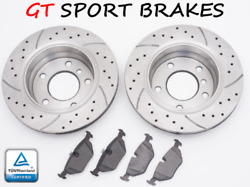 For Seat Leon 1m1 1.9 2.8 Cupra 2001-2006 Brake Discs Pads Gt0264 312mm Front