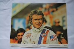 Original Le Mans Lobby Cards. Full Set Of Eight From 1971