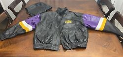 Tigers Letterman Style Embroidered Varsity Jacket Xl