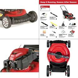 21 In. 159 Cc Gas Walk Behind Push Mower With Check Donand039t Change Oil And 3-