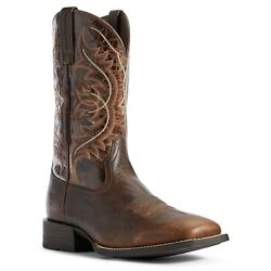 Ariat Menand039s Canteen Coffee And Old Oak Holder Boots 10031440