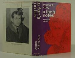 Frederick Exley  A Fan's Notes Signed 1st Edition 1968 #1311091