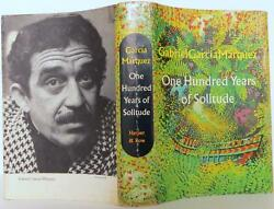 Gabriel Garcia Marquez / One Hundred Years Of Solitude First Edition 1508029