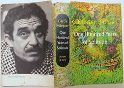 Gabriel Garcia Marquez / One Hundred Years Of Solitude First Edition 1508033