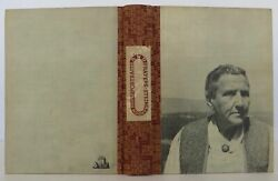 Gertrude Stein / Portraits And Prayers Signed 1st Edition 1934 1611009