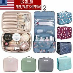 Women Multifunction Travel Cosmetic Bag Makeup Case Pouch Toiletry Organizer $8.39